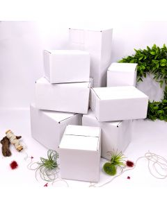 Shipping Boxes 7x5x3 White