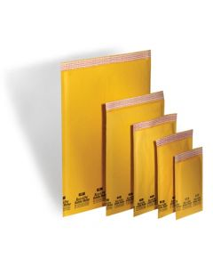 #1 Kraft Bubble Mailers: 7.25x12 Ecolite Brand
