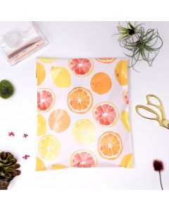 Designer Mailers Citrus Poly Mailers 10x13