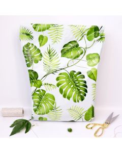 Banana Leaves #SmileMail Designer Gusseted Poly Mailers 14.5x19x4