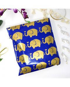 Elephant #SmileMail Designer Poly Mailers 10x13