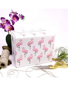 8x6x6 Flamingo Designer Boxes