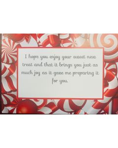 Candy Cane 4x6 Thank You Cards