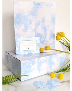 12x10x4 Cloud Tie Dye Designer Boxes