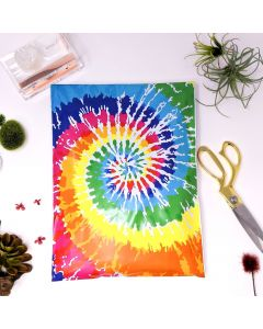 Designer Mailers Tie Dye Poly Mailers 10x13