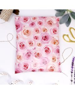 Designer Mailers Roses Poly Mailers 9x12