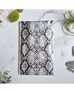SnakeSkin #SmileMail Designer Poly Mailers 6x9