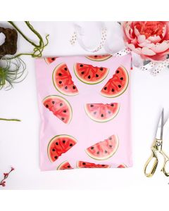Watermelon Designer Poly Mailers 10x13
